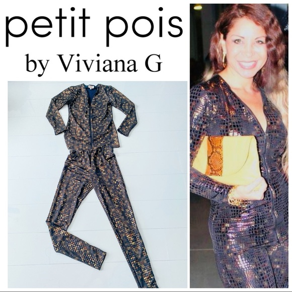 Petit Pois by Viviana G Two pieces set